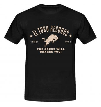 EL TORO RECORDS  - SINCE 1996  T-SHIRT FOR BOYS