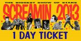SCREAMIN' 2013 ONE DAY PASS