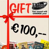 100.00 Euro Gift Certificate
