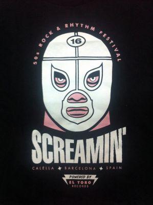 SCREAMIN' 2013 T-SHIRT FOR GIRLS