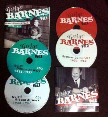 GEORGE BARNES – 4 CD PACKAGE DEAL