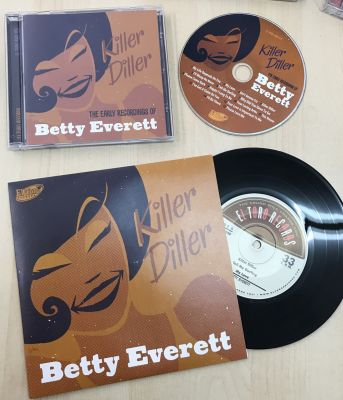 BETTY EVERETT - KILLER DILLER - VINYL + CD