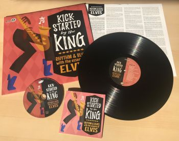 V/A - KICK-STARTED BY THE KING - VINYL LP
