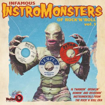 INFAMOUS INSTROMONSTERS VOL 1 -  VINYL LP