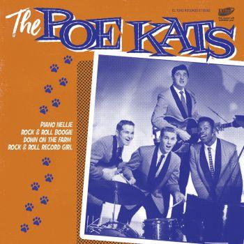 THE POE KATS - PIANO NELLIE - VINYL EP
