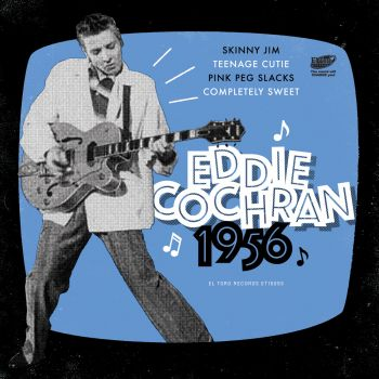 EDDIE COCHRAN- 1956  - VINYL EP