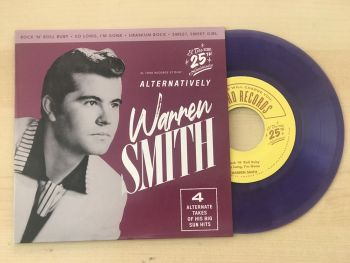WARREN SMITH - ALTERNATIVELY - VINYL EP