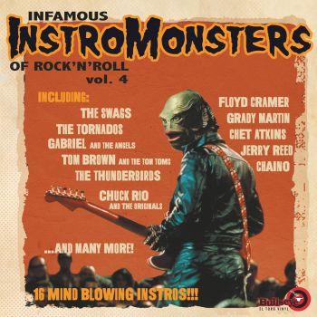 INFAMOUS INSTROMONSTERS VOL 4 - VINYL LP