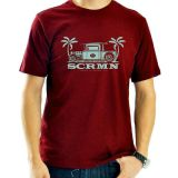 SCRMN 50'S BIKE & CAR SHOW T-SHIRT R/B