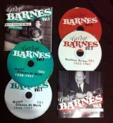 GEORGE BARNES – 4 CD PACKAGE DEAL