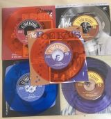 ROCKABILLY IN COLORS- 5  VINYL EP SET